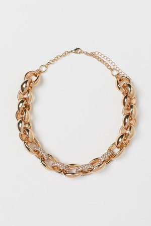 Chunky Necklace - Gold-colored - Ladies | H&M US