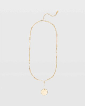 Serefina Long Lariat Necklace