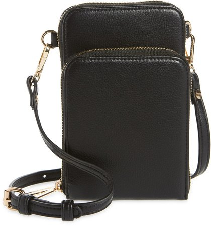 Jo Vegan Leather Wallet on a Strap