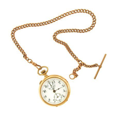 Rose Gold Pocket Watch Chain