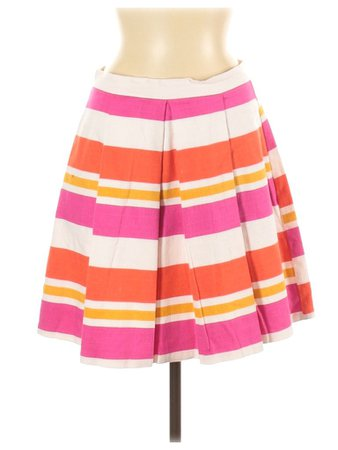 United Colors Of Benetton Striped Casual Skirt Size 6 - 77% off | thredUP