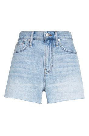 Madewell The Perfect Jean Shorts (Millman Wash) | Nordstrom