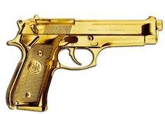gold gun arm