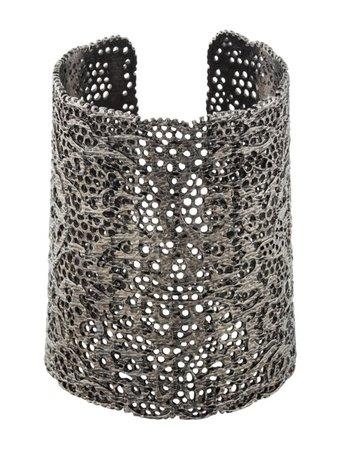 Aurélie Bidermann Vintage Lace Cuff - Bracelets - AUB20925 | The RealReal