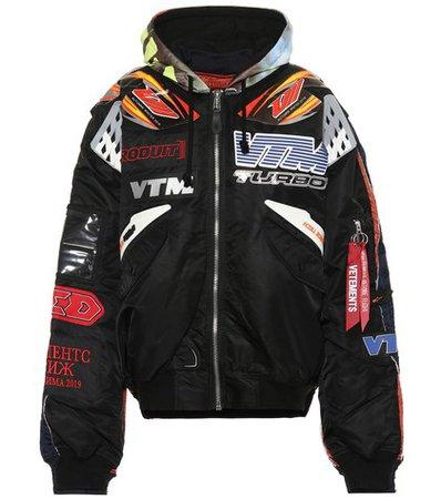 X Alpha Industries bomber jacket