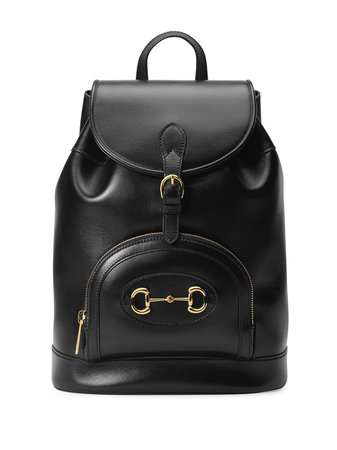 Gucci Gucci 1955 Horsebit Backpack - Farfetch