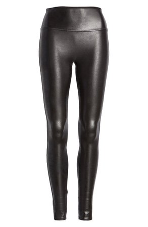 SPANX® Faux Leather Leggings (Regular, Petite & Plus Size) | Nordstrom
