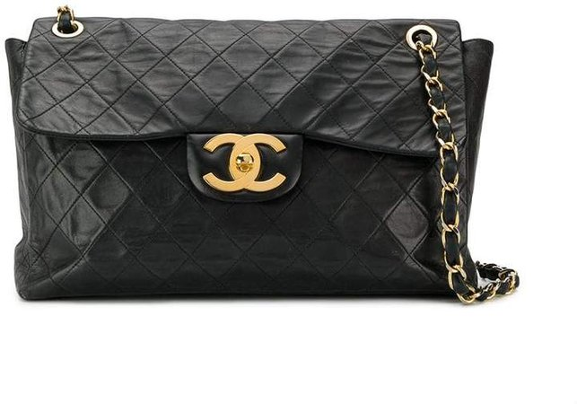 Pre-Owned CC quilted chain shoulder bag