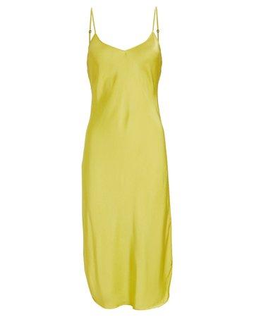 Nili Lotan Strappy Silk Cami Slip Dress | INTERMIX®