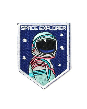 Space Explorer Patch – Strange Ways