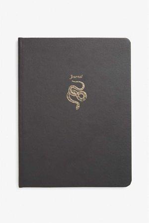 Snake emblem journal - Black magic - Home & gifts - Monki SE