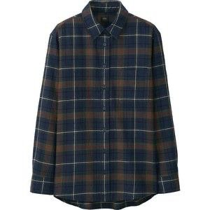Woman Flannel Check Long Sleeve Shirt