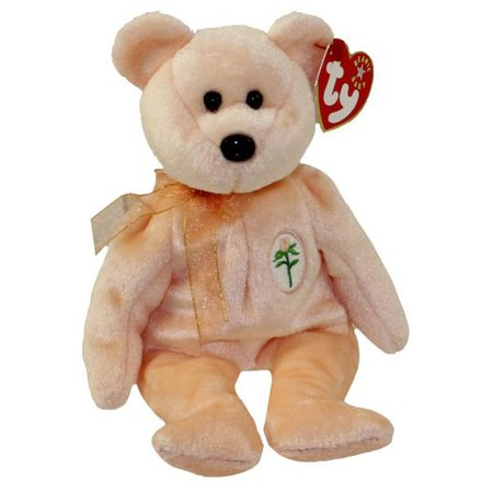 TY Beanie Baby - DEAREST the Bear (8.5 inch): BBToyStore.com - Toys, Plush, Trading Cards, Action Figures & Games online retail store shop sale