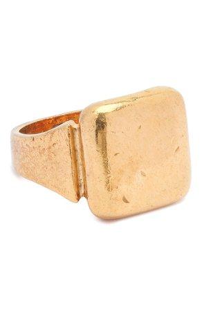 Женское золотое кольцо BOTTEGA VENETA — купить за 31150 руб. в интернет-магазине ЦУМ, арт. 576454/VAHU0