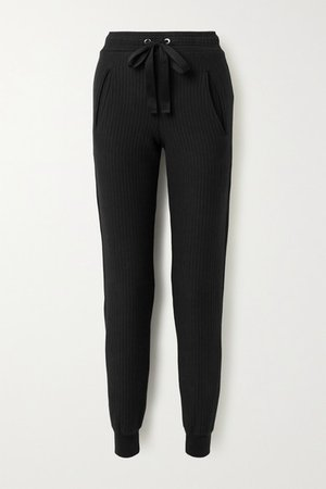 The Range | Ripple ribbed stretch-cotton tapered track pants | NET-A-PORTER.COM