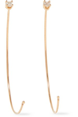 Loren Stewart | 14-karat gold diamond earrings | NET-A-PORTER.COM
