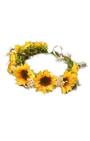 sunflower and Daisy flower crown