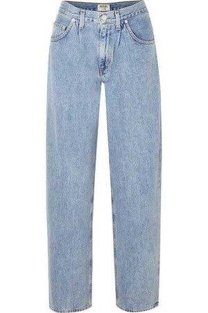 AGOLDE - Boyfriend Jeans - Mid denim