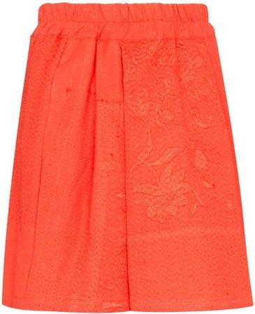Narmin embroidered shorts