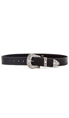 B-Low the Belt Frank Hip Belt in Black & Silver | REVOLVE