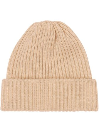 Burberry Rib Knit Wool Beanie - Farfetch