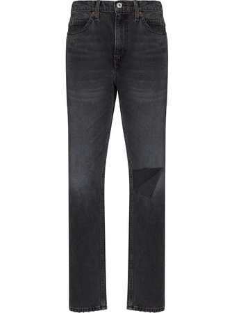 RE/DONE 70s high-waist straight-leg Jeans - Farfetch