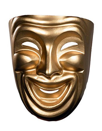Drama Masks Comedy Mask & Tragedy Mask 10473