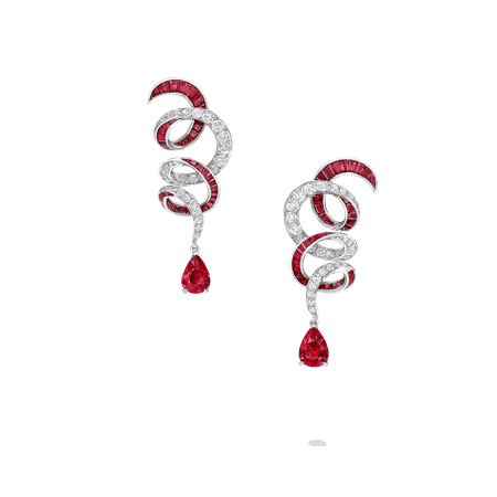Diamond Classic Earrings   Inspired by Twombly Jewellery   Graff