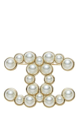 Pearl Chanel Brooch