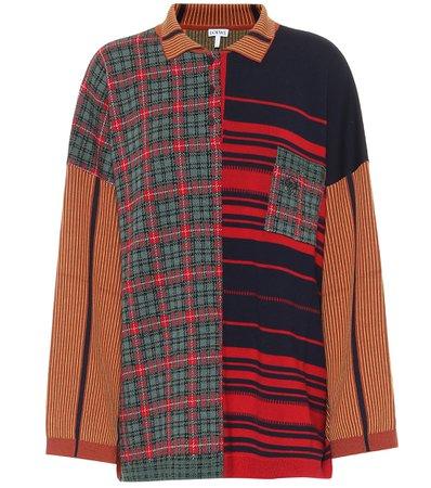 Loewe, Wool-Blend Jacquard Sweater