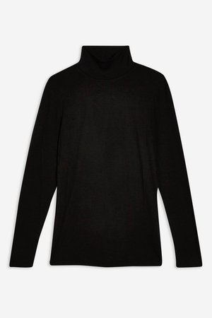 **High Neck Long Sleeve T-Shirt by Selected Femme - T-Shirts - Clothing - Topshop