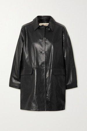 Mulholland Leather Jacket - Black