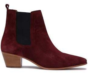 Yvette Suede Ankle Boots