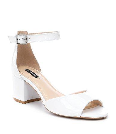 Short White Heels