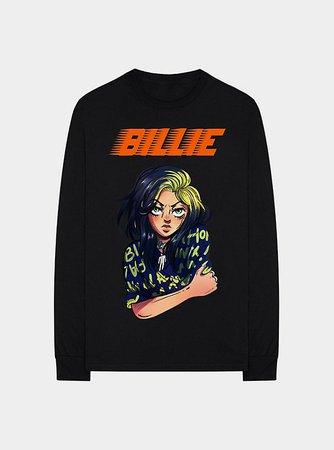 Billie Eilish Anime Girls Sweatshirt