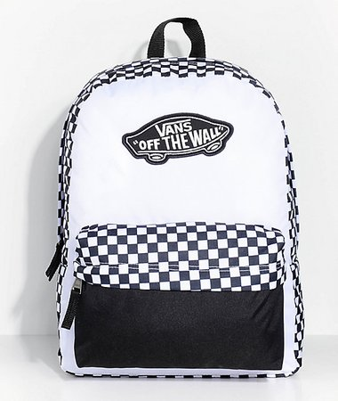 Vans Realm Checkered 22L Backpack | Zumiez