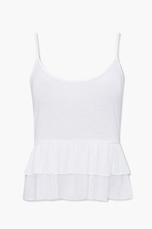 Ribbed Flounce Cami | Forever 21