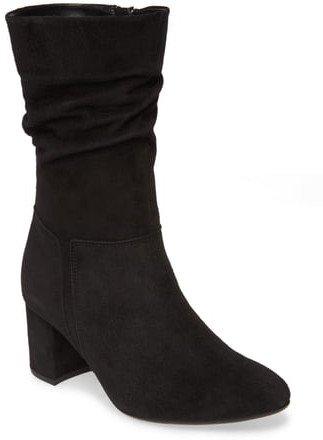 Block Heel Boot