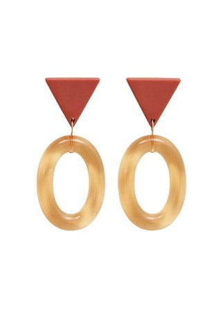 MANGO Combined transparent earings