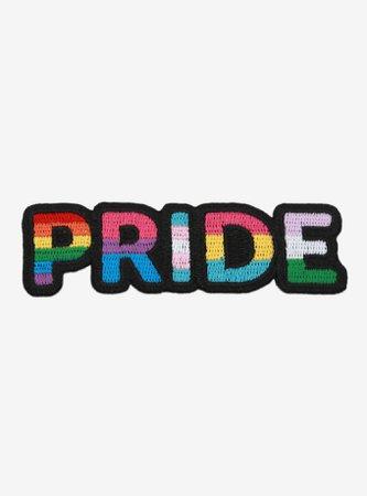 Pride Rainbow Flag Patch