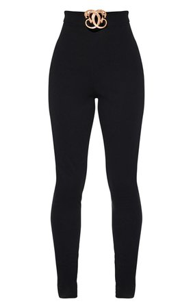 BLACK PANTHER CLASP TRIM DETAIL FITTED PANTS.jpg (740×1180)
