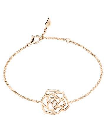 PIAGET 18K Red Gold Rose Bracelet