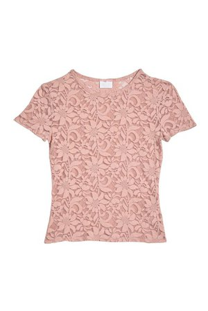 Abound | Lace Baby Crew Neck T-Shirt | Nordstrom Rack