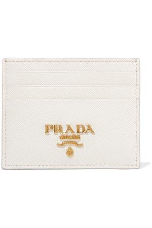 Prada | Textured-leather cardholder | NET-A-PORTER.COM
