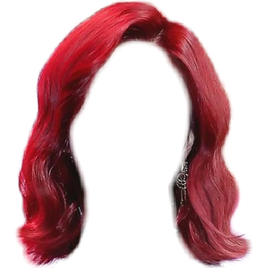 Short Red Hair PNG