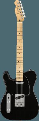 Fender Player Telecaster LH, Black, Electric guitar