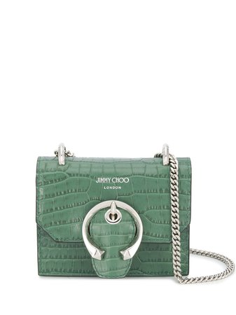 Jimmy Choo Mini Paris Crossbody Bag - Farfetch
