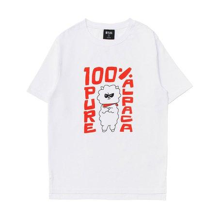 BT21 RJ Artwork Graphic T-Shirt - LINE FRIENDS INC