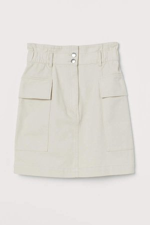 Utility Skirt - White