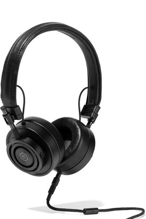 MH30 textured-leather headphones | MASTER & DYNAMIC | Sale up to 70% off | THE OUTNET